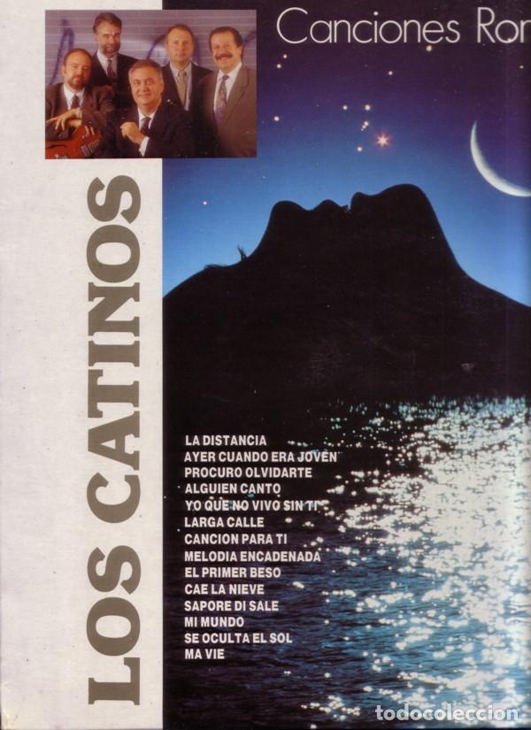 LOS CATINOS– CANCIONES ROMÁNTICAS - LP SPAIN 1991 (Música - Discos - LP Vinilo - Grupos Españoles de los 90 a la actualidad)
