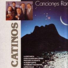Discos de vinilo: LOS CATINOS– CANCIONES ROMÁNTICAS - LP SPAIN 1991. Lote 169089456
