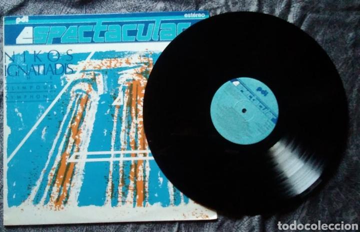 Discos de vinilo: Lp espectacular nikos ignatiadis the Olympous symphony año 1989 - Foto 2 - 169090916