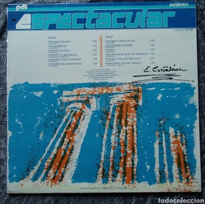 Discos de vinilo: Lp espectacular nikos ignatiadis the Olympous symphony año 1989 - Foto 3 - 169090916