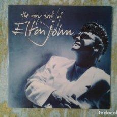 Discos de vinilo: ELTON JOHN - HE VERY BEST OF - PHONOGRAM 1990 ED. ESPAÑOLA 846947-1 GATEFOLD MUY BUENAS CONDICIONES.. Lote 169096836