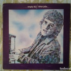 Discos de vinilo: ELTON JOHN - EMPTY SKY - LP DJM 1969 ED. ORIGINAL INGLESA GATEFOLD SLEEVE DJLPS.403 MUY BUENAS CONDI. Lote 169097192