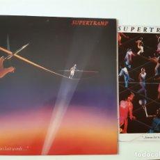 Discos de vinilo: SUPERTRAMP- FAMOUS LAST WORDS LP - SPAIN LP 1982 + ENCARTE + DOSIER DE PRENSA- VINILO COMO NUEVO.. Lote 169100924