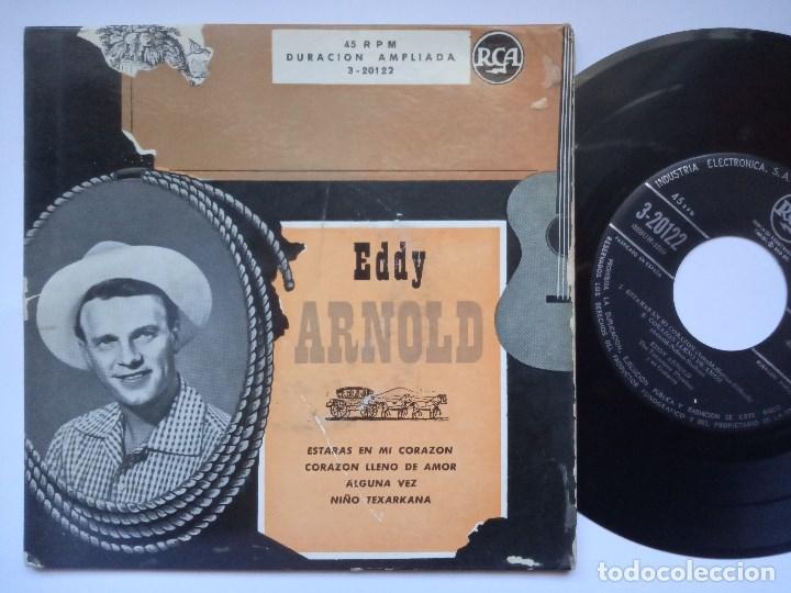 EDDY ARNOLD - ESTARAS EN MI CORAZON - EP ESPAÑOL - RCA (Música - Discos de Vinilo - EPs - Country y Folk)