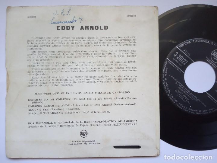 Discos de vinilo: EDDY ARNOLD - estaras en mi corazon - EP ESPAÑOL - RCA - Foto 2 - 169106100