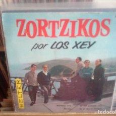 Discos de vinilo: LOS XEY - ZORTZIKOS - MAITETXU MÍA / NORTXU + 2 - EP BELTER 1961 - LIBRITO DE FOTOGRAFÍAS Y TEXTOS. Lote 184802690