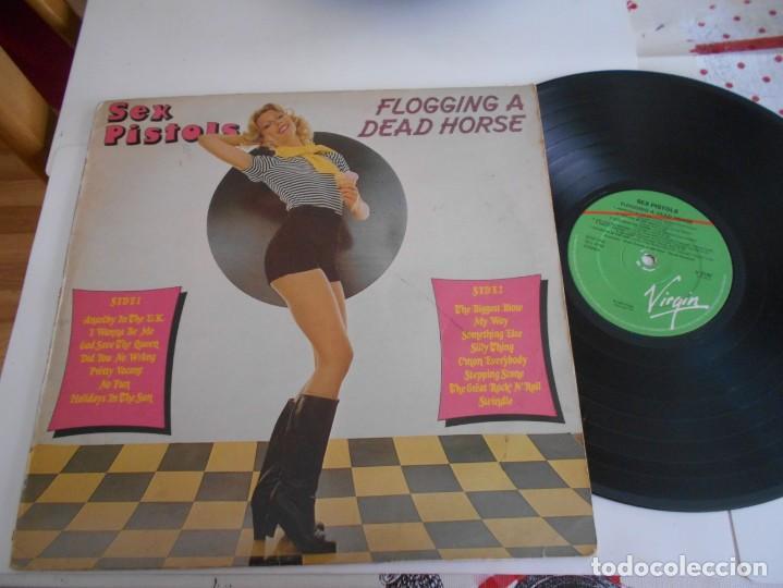 SEX PISTOLS-LP FLOGGING A DEAD HORSE (Música - Discos - LP Vinilo - Punk - Hard Core)