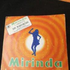 Discos de vinilo: LOS MARISMEÑOS 1971 MARUJA LIMÓN / YO ME VOY A LA ALAMEDA [DISCO PROMOCIONAL MIRINDA]. Lote 169125544