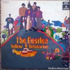 Discos de vinilo: THE BEATLES. YELLOW SUBMARINE. EMI-ODEON, SPAIN 1967 LP ORIGINAL 1 J-062-04.002. Lote 169130008