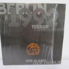Discos de vinilo: BERLIN 1992. TRESOR KOMPILATION. DER KLANG DER FAMILIE. LP VINILO. TRESOR 1992. Lote 169132656