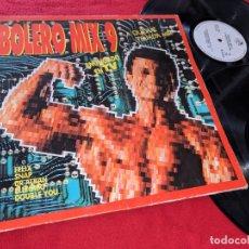 Discos de vinilo: BOLERO MIX 9 A QUIQUE TEJADA MIX 2LP 1992 BYN GATEFOLD SPAIN ESPAÑA RECOPILATORIO DANCE. Lote 169135872