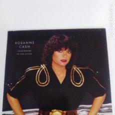 Discos de vinilo: ROSANNE CASH SOMEWHERE IN THE STARS ( 1982 ARIOLA GERMANY ) JOHNNY CASH RODNEY CROWELL BUEN ESTADO. Lote 169136244