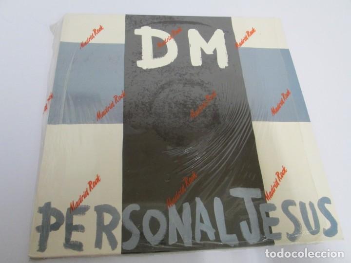 Discos de vinilo: D M PERSONAL JESUS. DEPECHE MODE. MAXI SINGLE. VINILO. MUTE RECORDS 1989. - Foto 2 - 169143216