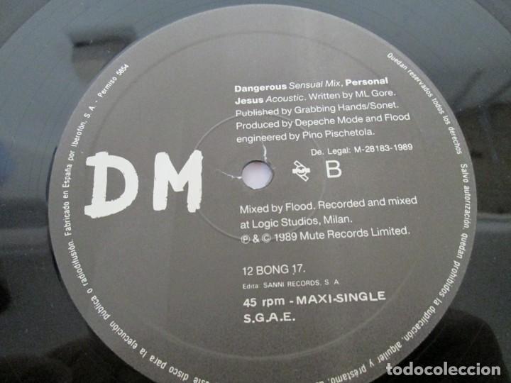 Discos de vinilo: D M PERSONAL JESUS. DEPECHE MODE. MAXI SINGLE. VINILO. MUTE RECORDS 1989. - Foto 4 - 169143216