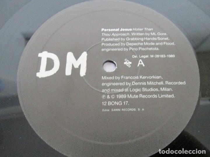 Discos de vinilo: D M PERSONAL JESUS. DEPECHE MODE. MAXI SINGLE. VINILO. MUTE RECORDS 1989. - Foto 6 - 169143216