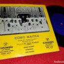 Discos de vinilo: CORO MAITEA STILLE NACHT/GABONAK/AVE MARIA EP 195? COLUMBIA FEMENINO MARI ANGELES OLARIAGA. Lote 169156892