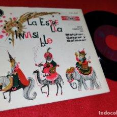 Discos de vinilo - LA ESTRELLA INVISIBLE J.Antonio Iglesia+Jose Pagan Historia Melchor Gaspar Baltasar 1960+COMIC - 169157276