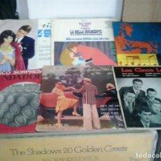 Discos de vinilo: LMV - LOTE DE 6 SINGLES VARIADOS. Lote 169162156