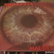 Discos de vinilo: LP MAL DE OJO SDO SERVICIO DEL ORDEN 100% V POTENCIAL X HARD CORE 1993 INCLUYE INSERT. Lote 169169884