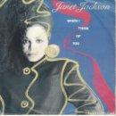 Discos de vinilo: JANET JACKSON - WHEN I THINK OF YOU / PRETTY BOY (SINGLE ESPAÑOL, AM RECORDS 1986). Lote 169170104