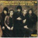 Discos de vinilo: FRANKE AND THE KNOCKOUTS - SWEETHEART / DON'T STOP (SINGLE PROMO ESPAÑOL, RCA 1981). Lote 169170380