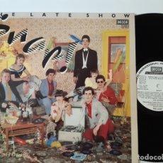 Discos de vinilo: THE LATE SHOW- SNAP- SPAIN PROMO LP 1979- COMO NUEVO.. Lote 169170704