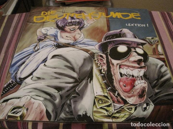 LP DIE DEUTSCHSTUNDE LEKTION 1 PORK PIE ALEMANIA ROCKSTEADY (Música - Discos - LP Vinilo - Pop - Rock Extranjero de los 90 a la actualidad)