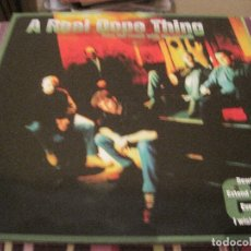 Discos de vinilo: LP A REAL DOPE THING TAKE THE ROUGH WITH THE SMOOTH EP 331/3 HIP HOP. Lote 169171512