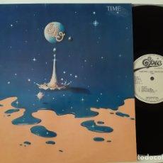 Discos de vinilo: ELO- TIME - SPAIN PROMO LP 1981.+ ENCARTE- WHITE LABEL- ELECTRIC LIGHT ORCHESTRA- COMO NUEVO.. Lote 169171976