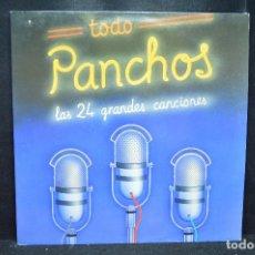 Discos de vinilo: LOS PANCHOS - TODO PANCHOS (LAS 24 GRANDES CANCIONES) - 2 LP. Lote 169176188