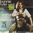 Discos de vinilo: BONNIE TYLER - IT'S A HEARTACHE / GOT SO USED TO LOVIN YOU (SINGLE ESPAÑOL, RCA 1978). Lote 169176232
