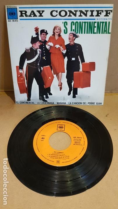 RAY CONNIFF / 'S CONTINENTAL / EP - CBS-1962 / MBC. ***/*** (Música - Discos de Vinilo - EPs - Orquestas)