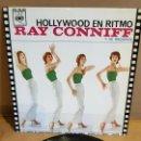Discos de vinilo: RAY CONNIFF / HOLLYWOOD EN RITMO / EP - CBS-1963 / MBC. ***/***. Lote 169181112