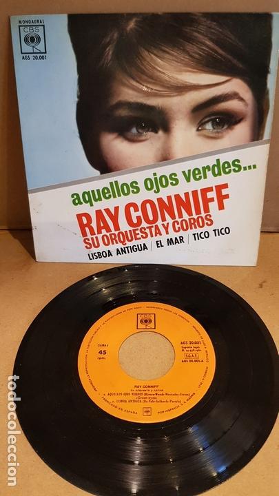 RAY CONNIFF / AQUELLOS OJOS VERDES / EP - CBS-1962 / MBC. ***/*** (Música - Discos de Vinilo - EPs - Orquestas)