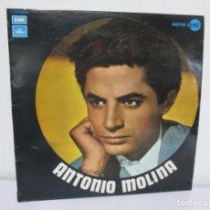 Discos de vinilo: ANTONIO MOLINA. LP VINILO. EMI ODEON SERIE AZUL. 1971. VER FOTOGRAFIAS ADJUNTAS. Lote 169181640