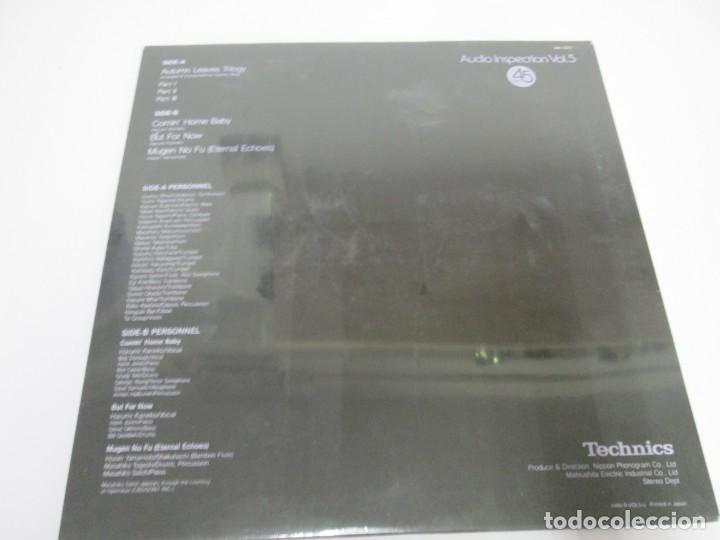 Discos de vinilo: TECHNICS. AUDIO INSPECTION VOL 5.NUEVO SIN DESPRECINTAR. LP VINILO - Foto 4 - 169182344