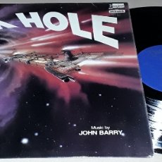 Discos de vinilo: LP - JOHN BARRY - BLACK HOLE - 1° EDICIÓN MADE IN ENGLAND - JOHN BARRY - DYSNEY -. Lote 169185942