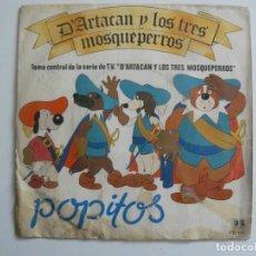Discos de vinilo: D´ARTACAN Y LOS TRES MOSQUEPERROS - BELTER - 1982. Lote 169191348