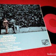 Discos de vinilo - MARIA DOLORES PRADERA&LOS GEMELOS Maria Antonia la ventera/Pesares +2 EP 1969 Zafiro - 169192360