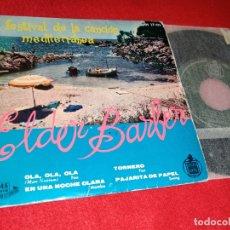 Discos de vinilo - ELDER BARBER Ola ola ola/Tornero/Es una noche clara/Pajarita de papel EP 1959 CANCION MEDITERRANEA - 169193160