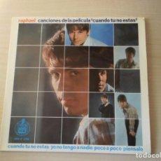 Discos de vinilo: RAPHAEL -SINGLE VINILO (1966). Lote 169195272