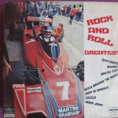 Discos de vinilo: LP - ROCK AND ROLL GREATEST - BRIAN BURD AND THE BALC SABBATH, JOHN SMITH AND NEW SOUND. Lote 169198896