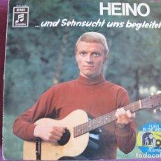 Discos de vinilo: LP - HEINO - UND SEHNSUCHT UNS BEGLEITET (GERMANY, COLUMBIA RECORDS SIN FECHA). Lote 169199736