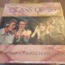 Discos de vinilo: CLASS OF 55. C. PERKINS, J. LEE LEWIS, R. ORBISON Y JOHNNY CASH. EDICIÓN DE 1986 USA. Lote 169199922