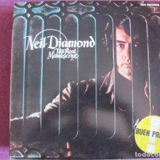 Discos de vinilo: LP - NEIL DIAMOND - TAP ROOT MANUSCRIPT (SPAIN, MCA RECORDS 1983). Lote 169200140