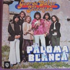 Discos de vinilo: LP - GEORGE BAKER SELECTION - PALOMA BLANCA (HOLLAND, WB RECORDS 1975, PORTADA DOBLE). Lote 169202272