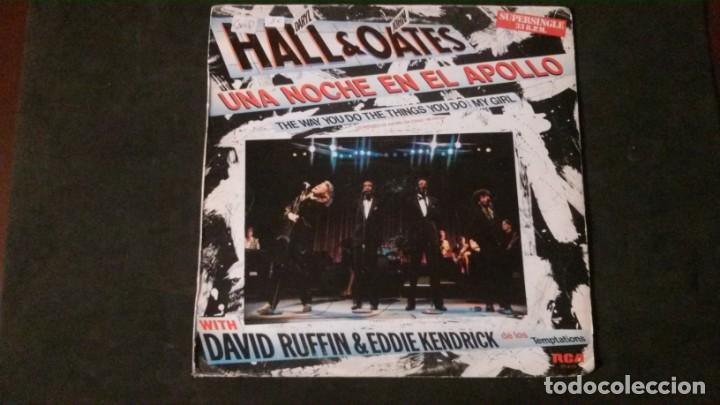 LP-DARYL HALL & JOHN OATES-UNA NOCHE EN EL APOLLO-1985 (Música - Discos - LP Vinilo - Jazz, Jazz-Rock, Blues y R&B)