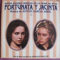 Discos de vinilo: LP - FORTUNATA Y JACINTA - MUSICA DE ANTON GARCIA ABRIL (ERNESTO BITETTI, GUITARRA). Lote 169211028