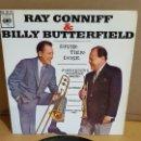 Discos de vinilo: RAY CONNIFF & BILLY BUTTERFIELD / DIVIRTIÉNDOSE / EP - CBS-1963 / MBC. ***/***. Lote 169211168