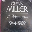 Discos de vinilo: LP - GLENN MILLER - A MEMORIAL 1944-1969 (DOBLE DISCO, USA, RCA RECORDS 1969). Lote 169212284